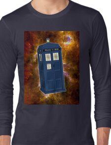 TARDIS in Space II Long Sleeve T-Shirt