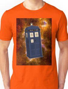 TARDIS in Space II Unisex T-Shirt