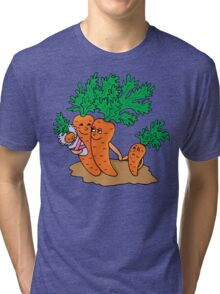 Vegetarian Family Tri-blend T-Shirt