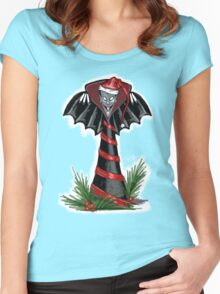 Vampire Holiday by Topher Adam Women's Fitted Scoop T-Shirt