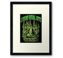 Frankenstein's Monster, Josef Bound monster art. Framed Print