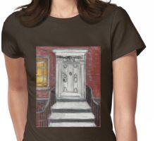 204 Washington Square,NYC Womens Fitted T-Shirt