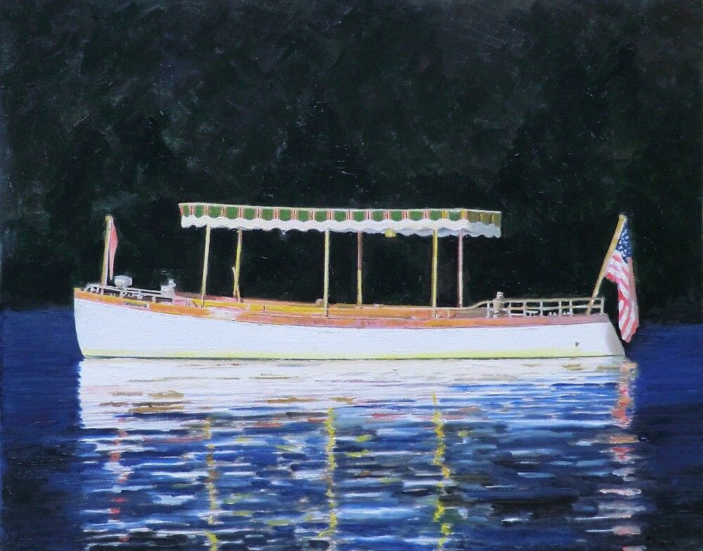 Boat Launch in Calm Water by Brad A. Thomas