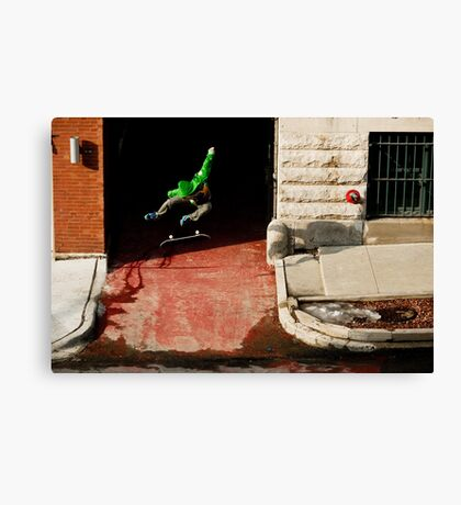 Neen Williams- Kick Flip- photo Ely Phillips Canvas Print