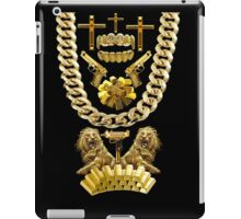 All Gold HipHop iPad Case/Skin