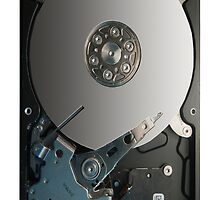 Hard disk by barbox