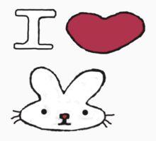 I <3 Bunny Kids Clothes