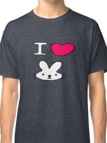 I <3 Bunny Classic T-Shirt