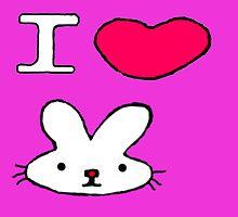 I <3 Bunny by Atarikat