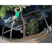 Silas Baxter-Neal - Front Feeble - Photo Sam McGuire Photographic Print
