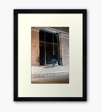 Dax Miller - Front Crook - Photo Sam McGuire Framed Print