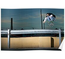 John Methvin - Heelflip - Photo Sam McGuire Poster