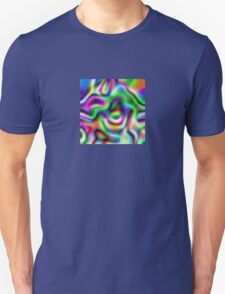 Psychedelic Rainbow Abstract Pattern Unisex T-Shirt
