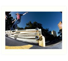 Silas Baxter-Neal - Backsmith - Photo Sam McGuire Art Print