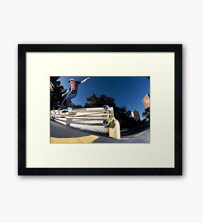 Silas Baxter-Neal - Backsmith - Photo Sam McGuire Framed Print