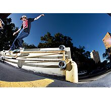Silas Baxter-Neal - Backsmith - Photo Sam McGuire Photographic Print