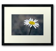 Greeting card - all that you love Framed Print