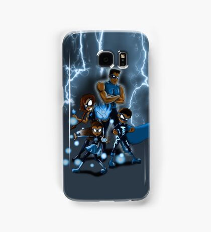 Family of Super Heroes  Samsung Galaxy Case/Skin