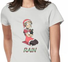 RAIN - Santa Rain (limited time only!) Womens Fitted T-Shirt