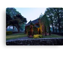 The Little Chapel Canvas Print