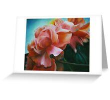 Dancing Roses Greeting Card