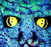 Squid-man Monster - Josef Bound monster art Sticker