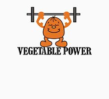 Vegetarian Power Womens Fitted T-Shirt