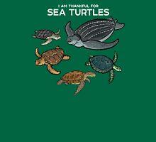 I Am Thankful For Sea Turtles Unisex T-Shirt