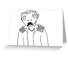 fish boi  Greeting Card
