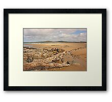 Fanad Beach Framed Print