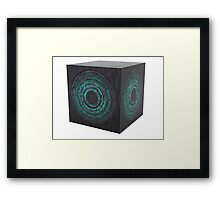 The pandorica Framed Print
