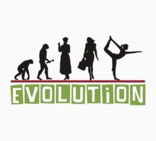 "Yoga ""Evolution"" T-Shirt by T-ShirtsGifts"