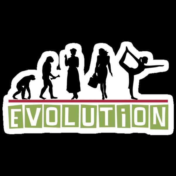 "Yoga ""Evolution"" T-Shirt by T-ShirtsGifts"