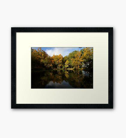 Autumn in Bucklebury Framed Print