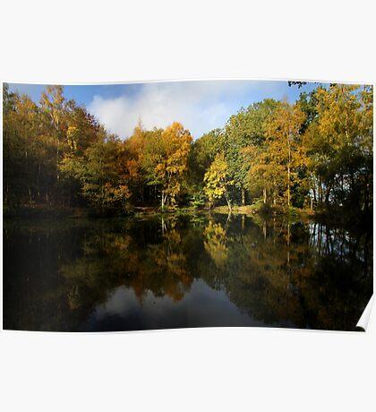 Autumn in Bucklebury Poster