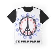 Paris 2015 Je Suis Graphic T-Shirt
