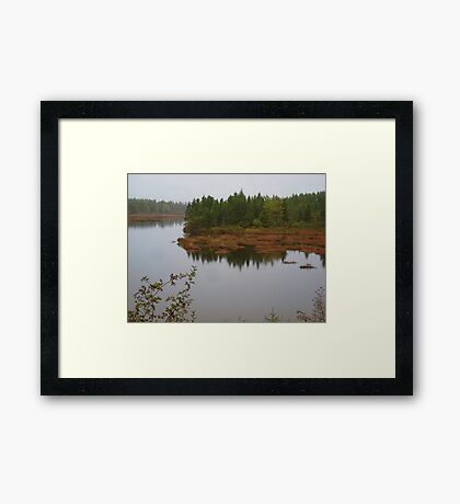 Cape Breton in the Fall Framed Print