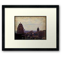 Aging Milwaukee © Framed Print