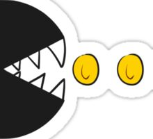 chomp-man Sticker