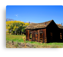 Fall at My House Canvas Print