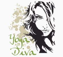 Yoga Diva by T-ShirtsGifts