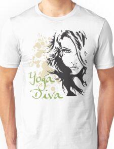Yoga Diva Unisex T-Shirt