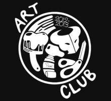 MVHS Art Club - White Design by narratekate