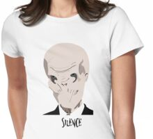Vector Silence Womens Fitted T-Shirt