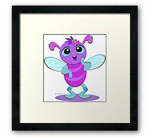 Cute Baby Bug Framed Print
