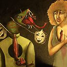 The Master Of Trickery And His Inevitable Deceptions by helene ruiz