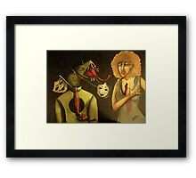 The Master Of Trickery And His Inevitable Deceptions Framed Print