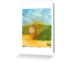 """Out Of The Sand""  by Carter L. Shepard Greeting Card"