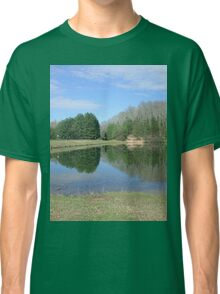 Rustic Lake of Blue and Green Classic T-Shirt