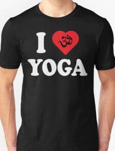 I Love Yoga T-Shirt Unisex T-Shirt